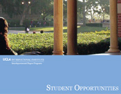 Student Opportunities Brochure