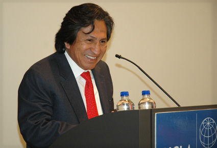 Peruvian Leader on the Costs of Global Poverty