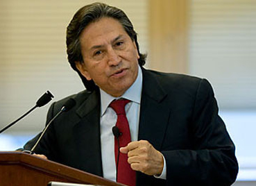 "Burkle Forum with Former Pres. of Peru Alejandro Toledo: ""Global Financial Crisis & the Fight Against Poverty"""