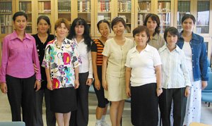 Ten Uzbek English Teachers Attend Three-Week Training Program at UCLA
