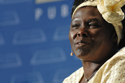 Wangari Maathai Calls for Debt Forgiveness