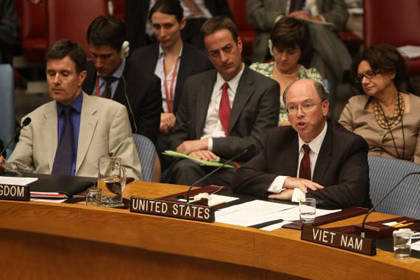 "Amb. Wolff, Deputy Permanent US Representative to the UN: Burkle Forum on ""The Obama Administration"
